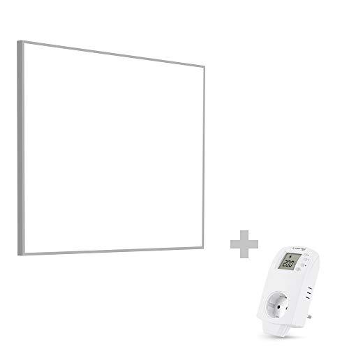 TROTEC TIH 400 S Infrarot-Heizplatte Infrarotheizung Heizpaneel 450 Watt inkl. Steckdosen-Thermostat BN30