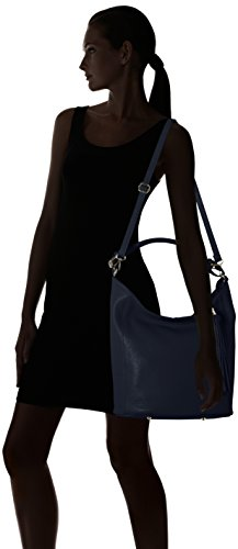 Bags4Less Damen Zara Schultertasche, 21x30x40 cm Blau (Dunkelblau)