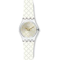 Swatch Montre Femme Digitale Quartz avec Bracelet en Silicone - LK365