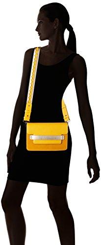 Lollipops - Bcity Shoulder, Borse a spalla Donna Giallo (Yellow)
