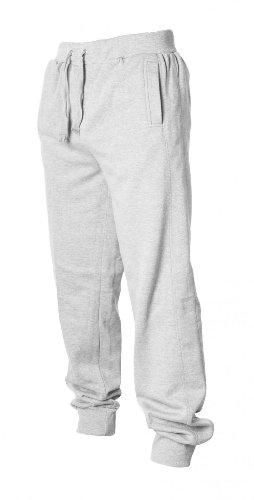 Urban Classics Herren Hose Straight Fit Sweatpants Lightgrey