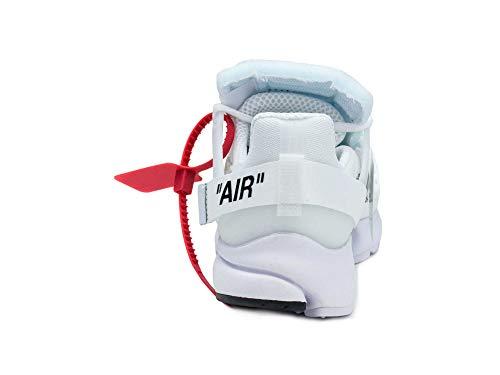 Nike Air Presto x Off White – White/Black Trainer - 4