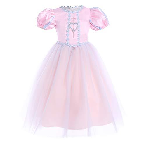 OBEEII Disfraz Sofia Princesa Vestido de Fiesta Disfraz para Halloween Ceremonia Cosplay Navidad Prom...