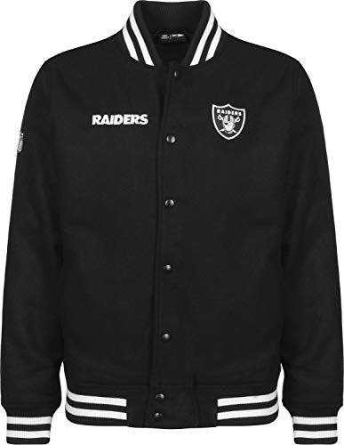 New Era NFL Oakland Raiders Bomberjacke Black