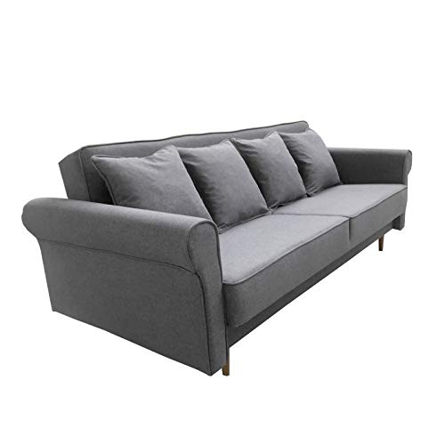 Mb Moebel Schlafsofa Kippsofa Sofa Mit Schlaffunktion Klappsofa Bettfunktion Bettkasten Couch