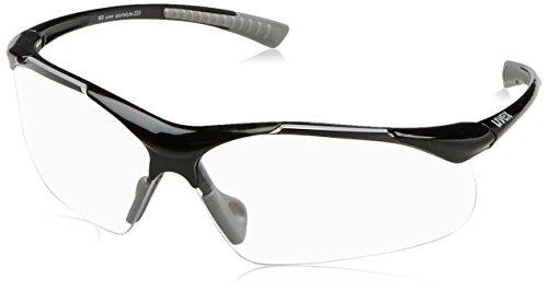 Uvex Erwachsene Sportstyle 223 Sportbrille, Black Grey, one size