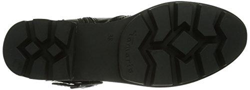 Tamaris 25429 Damen Biker Boots Schwarz (Black 001)