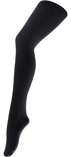 Merry Style Damen Thermo Strumpfhosen 24555 Extra Warm (Schwarz (Strumpfhose), 42/44)