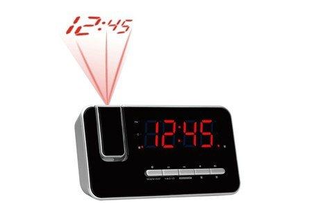 CRP-618 Uhrenradio (Wecker, PLL FM Radio, Display 3,0cm (1,2 Zoll), Projektion)