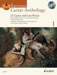 Baroque guitar anthology Vol.1 +CD - Guitare par Collectif