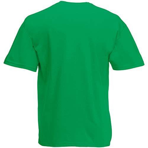Fruit of the Loom Herren T-Shirt Original T 61-082-0 Kelly Green M -