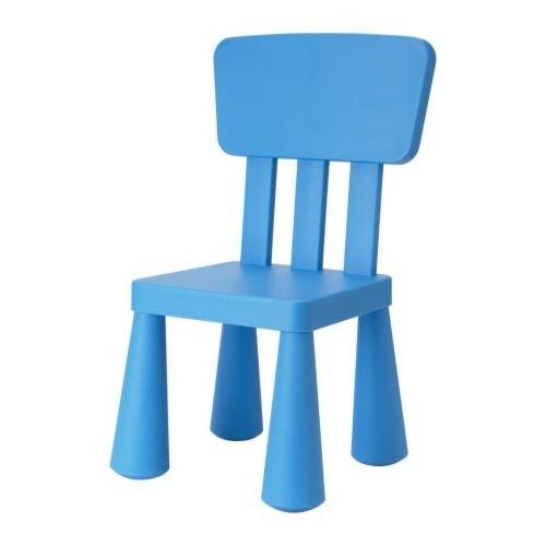 MUT Kindermöbel Stuhl in BLAU unverwüstlich ()
