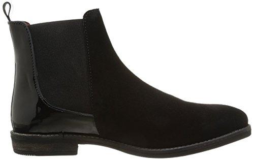 Pastelle Dorine Damen Stiefel & Stiefeletten Schwarz - Noir (Noir/Vernis Noir)