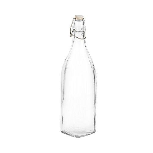 Botella de cristal 1000 ml. cristal
