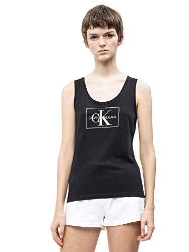 Calvin Klein Jeans Tank Damen Large Schwarz -