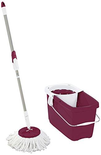 leifheit-clean-twist-scopa-da-pavimento-colore-rosso