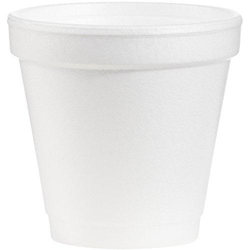 Petite tasse en mousse, 6,9 cm de diamètre, hauteur 6,6 cm, 4 G