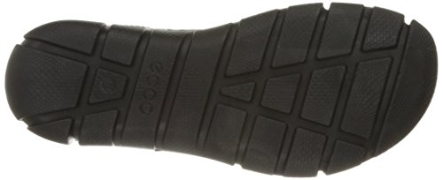 Ecco Intrinsic Sandal, Sandales Bout Ouvert Femme Noir (51052Black/Black)