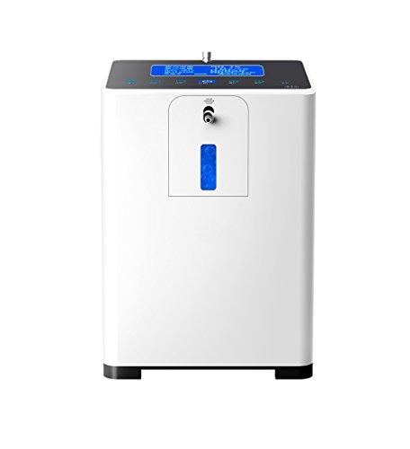 Tragbarer Konzentrator (LIQICAI tragbar Sauerstoff-Konzentrator Zuhause Sauerstoffgenerator 1-5 l / min Einstellbar- Atomisieren / Intelligentes SOS Funktion)