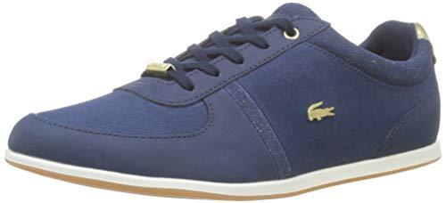 Lacoste Damen Rey Sport 119 2 Cfa Sneaker, Blau (NVY/Gld Ng5), 41 EU