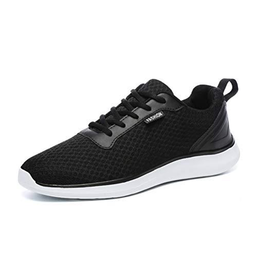 Sneakers da Passeggio per Uomo Outdoor Athletic Fitness Scarpa da Ginnastica Piatta con Lacci Sport Acquatici Scarpe da Corsa Casuali Leggere