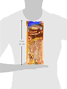 Nobby Friandise pour Chien Poulet Stick Enrobé 25 cm/Diamètre 7-8 mm