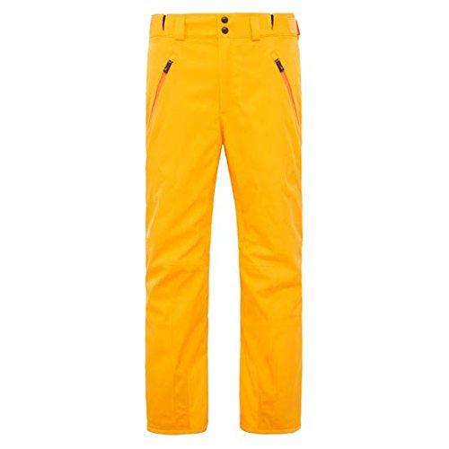 THE NORTH FACE - - Homme - Pantalon de ski jaune Ravina pour homme