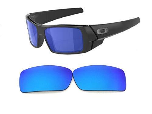 Galaxis Ersatzgläser für Oakley Gascan Eisblau Farbe Polarisierend - Standard, regular