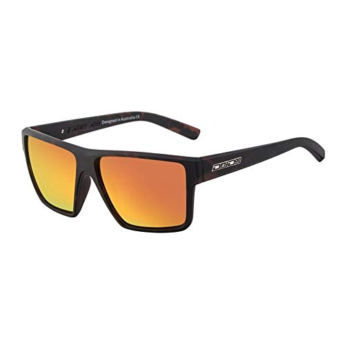 Dirty Dog Noise Sunglasses One Size Satin Tort Brown Orange Fusion