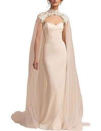 Suchergebnis Auf Amazon De Fur Hochzeits Cape Umhang Bekleidung