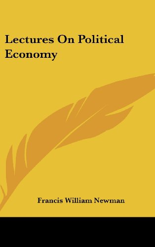Lectures on Political Economy