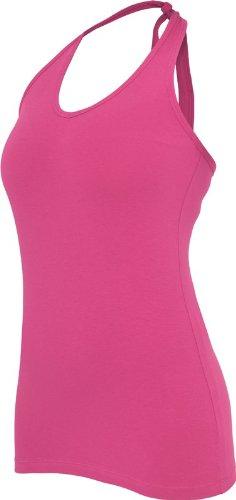 Urban Classics Damen Top Ladies Neckholder Shirt Rosa