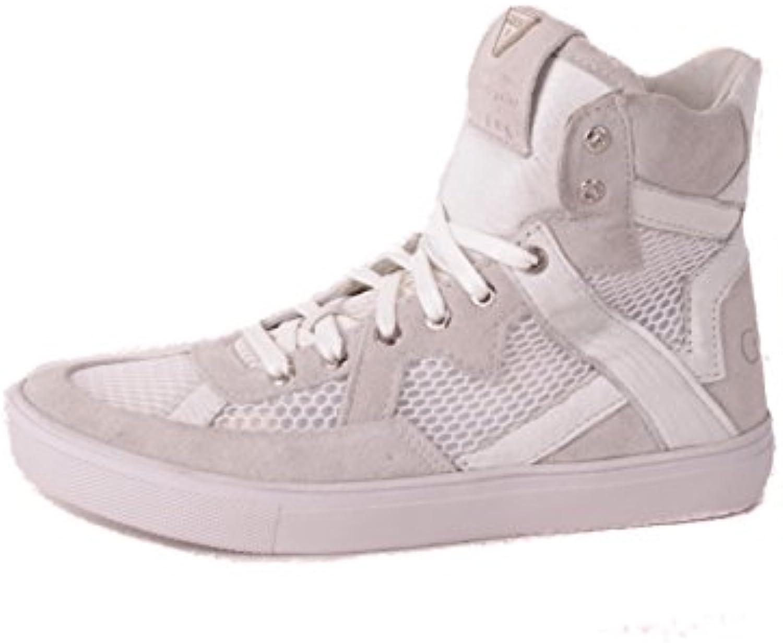 Guess Damen Sneaker Schnürboots Weißszlig; #520 2018 Letztes Modell  Mode Schuhe Billig Online-Verkauf