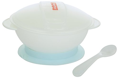 Fisher Price Non-Slip Suction Bowl with Snap-in Spoon (Blue)