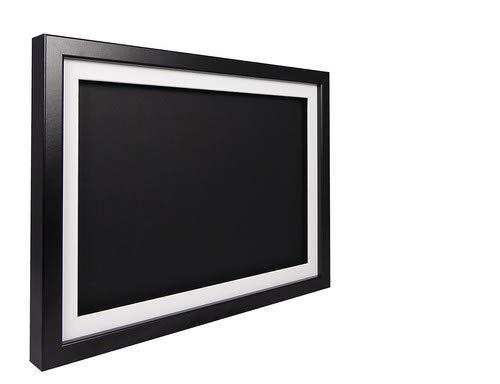 hadow Display Bilderrahmen A242x 59,4cm-Gestell schwarz, weiß Passepartout, Schwarz Rückwand ()