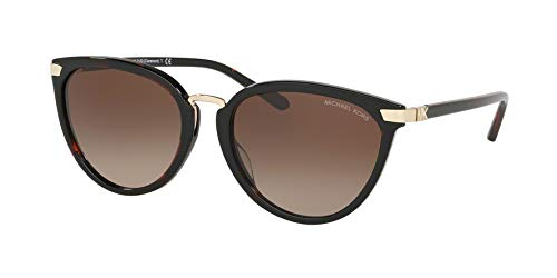 Michael Kors Sonnenbrillen Claremont MK 2103 Dark Havana/Brown Shaded Damenbrillen