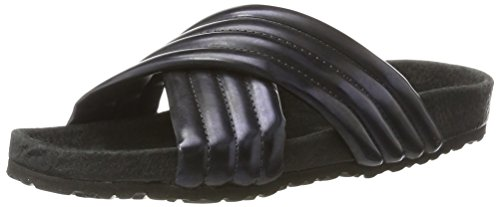 Nat-2 Damen Pool Sandalen Blau (navy metallic)
