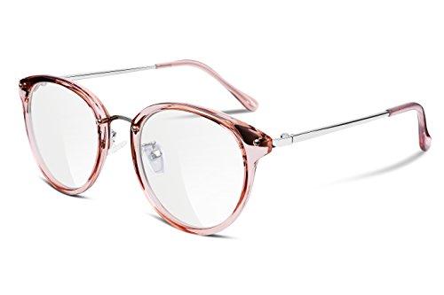 Feisedy montature per occhiali trasparenti montature composte per occhiali da vista donna uomo b2260