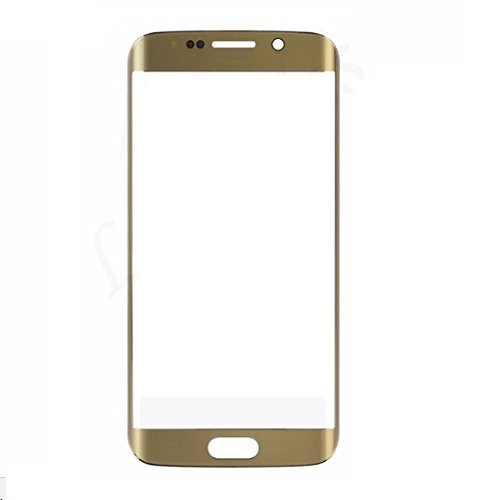 MrSpares Front Screen Outer Touch Glass Cover Panel LENS For Samsung Galaxy S6 Edge : Gold