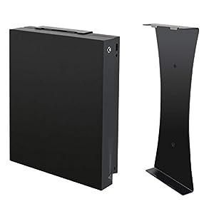 LeSB Xbox One X Wall Mount/Wandhalterung/ Halterung, Vertikalständer, Konsolenständer, Vertikale Wandhalterung mit für Xbox One X Konsole