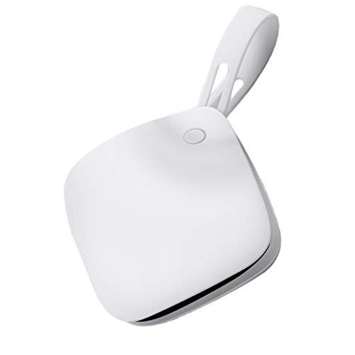 (TianranRT Tasche Heizung Hand Wärmer 5000mAh elektrisch wiederaufladbar Telefon Strom Bank Ladegerät (Weiß))