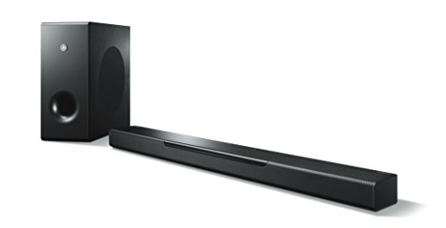 Yamaha MusicCast BAR 400 (YAS-408) Soundbar e subwoofer - Sistema dolby sorround con diffusore centrale e subwoofer wireless, per Home Cinema 3D 4k - Multiroom, WiFi, Airplay, Bluetooth 4.2, Nero