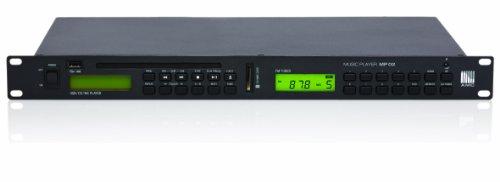 AMC MP02 Musik-Player mit CD, UKW-Tuner, SD-Karten, USB-Player schwarz