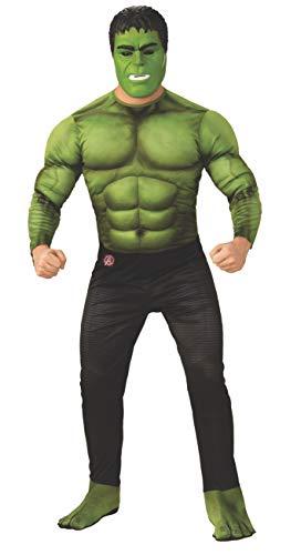 Deluxe Herren Kostüm Erwachsene Für - Rubie's Offizielles Avengers Endgame Hulk, Deluxe Erwachsene Herren Kostüm
