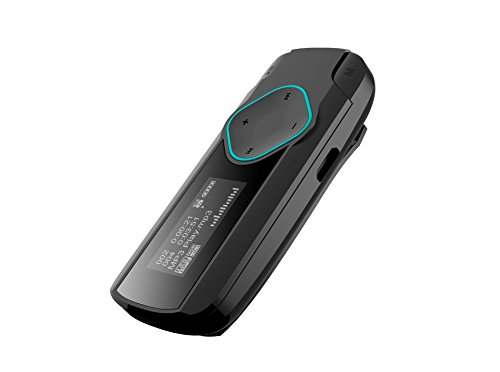 Difrnce MP875MP3-Player mit FM Radio, 4°GB, Blau