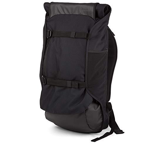 AEVOR Travel Pack - Handgepäck Rucksack, erweiterbar, ergonomisch, Rolltop System - Black Eclipse