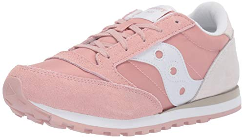 SAUCONY JAZZ SK161004 Carne Sneakers Donna Bambini Scarpa Casual Sportiva (37.5, Pink Cream)