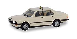 Herpa 094849 BMW 528i Taxi Coche en Miniatura para Manualidades y como Regalo, Multicolor