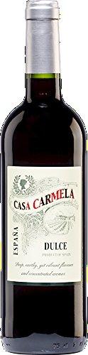 6x 0,75l - 2017er - Casa Carmela - dulce - Yecla D.O. - Spanien - Rotwein lieblich