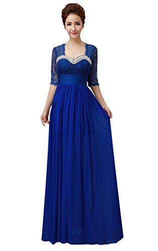 Drasawee - Robe - Moulante - Femme Bleu - Bleu